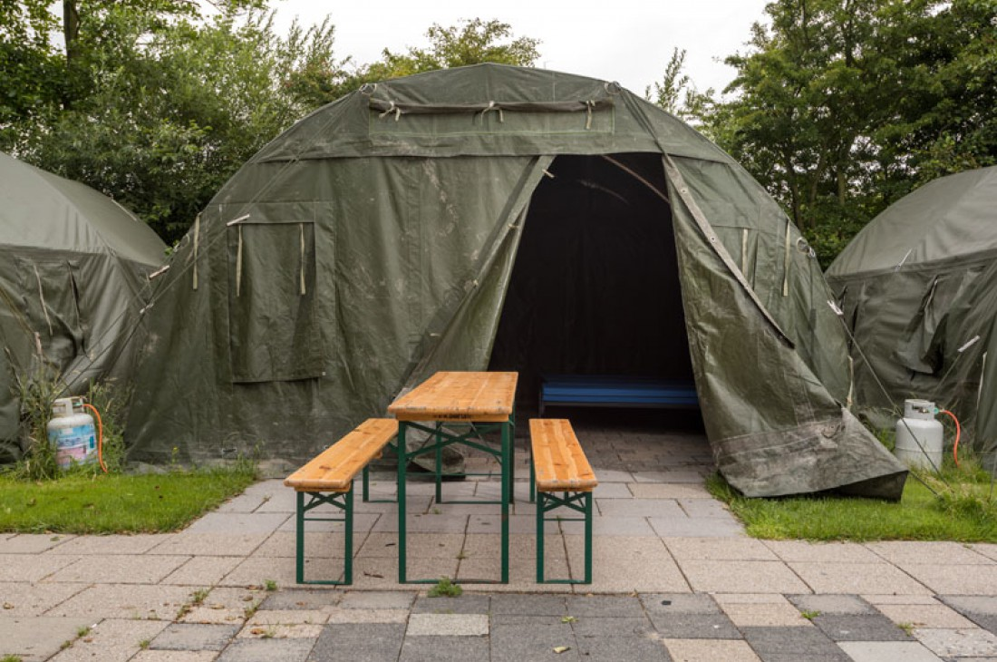 Welp 9-12 persoons legertent | Camping Terpstra FU-46